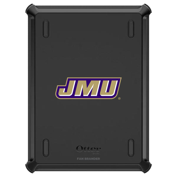 OtterBox Defender iPad case with James Madison Dukes Primary Logo