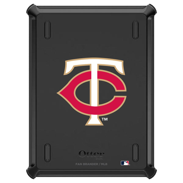OtterBox Defender iPad case with Minnesota Twins Secondary Logo
