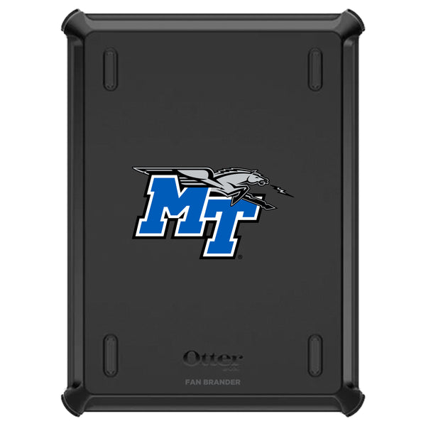OtterBox Defender iPad case with Middle Tennessee State Blue Raiders Primary Logo