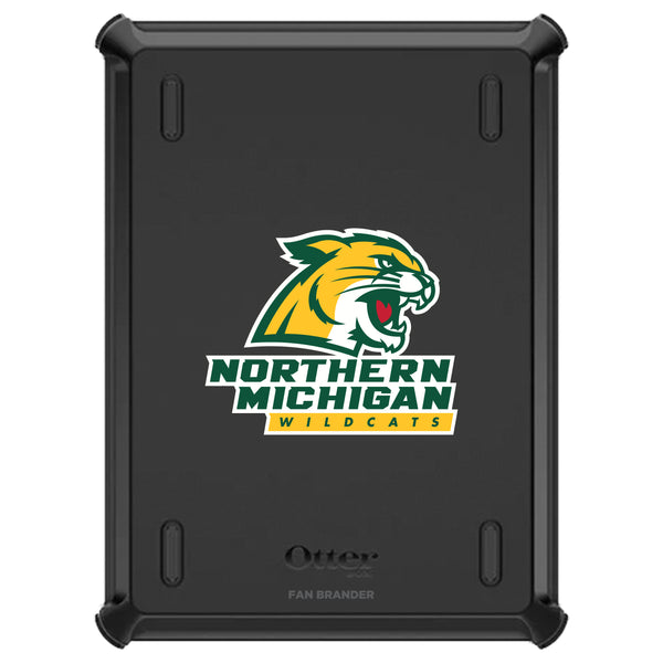 OtterBox Defender iPad case with Northern Michigan University Wildcats Primary Logo