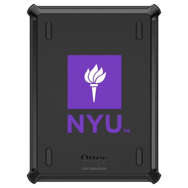 OtterBox Defender iPad case with NYU Primary Logo