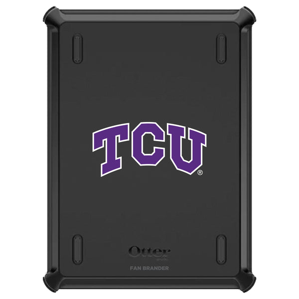 OtterBox Defender iPad case with Texas Christian University Horned Frogs Primary Logo