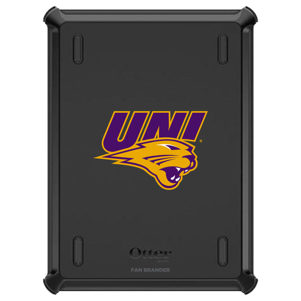OtterBox Defender iPad case with Northern Iowa Panthers Primary Logo