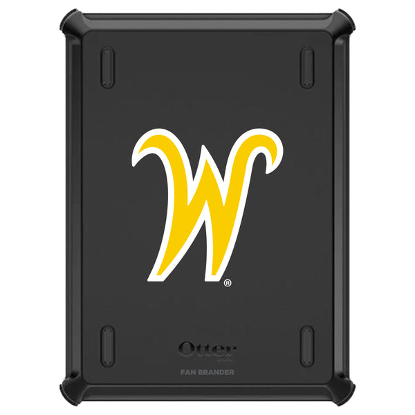 OtterBox Defender iPad case with Wichita State Shockers Secondary Logo