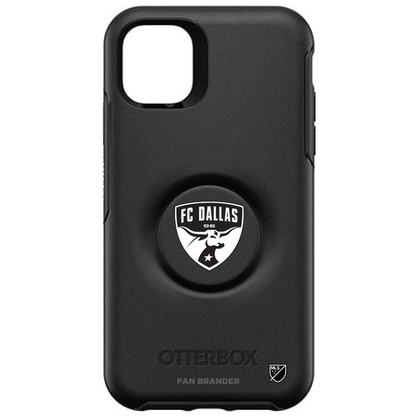 OtterBox Otter + Pop symmetry Phone case with FC Dallas Urban Primary Logo in Black and White