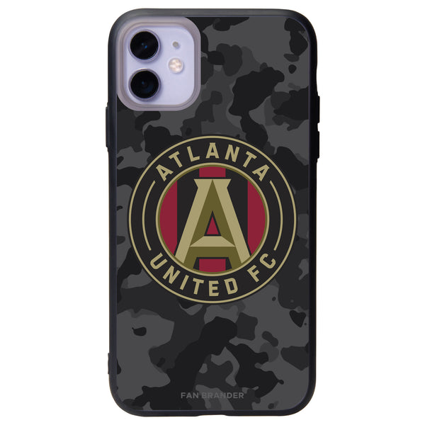 Fan Brander Slate series Phone case with Atlanta United FC Urban Camo Background