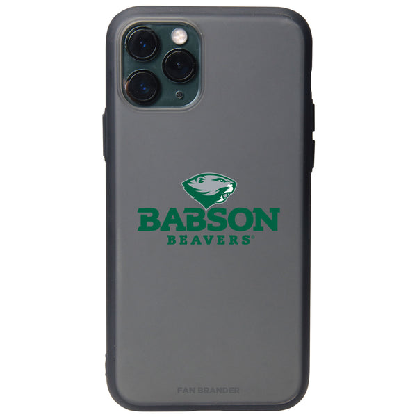 Fan Brander Slate series Phone case with Babson University Primary Logo