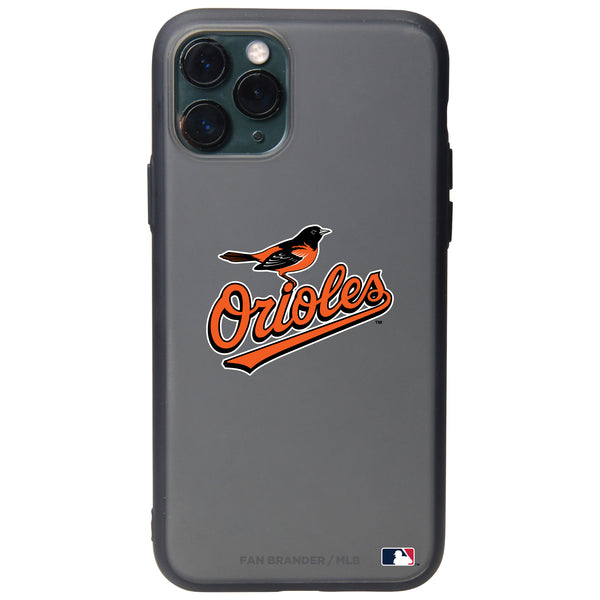 Fan Brander Slate series Phone case with Baltimore Orioles Secondary mark design