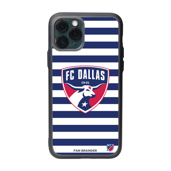 Fan Brander Slate series Phone case with FC Dallas Primary Logo with Stripes
