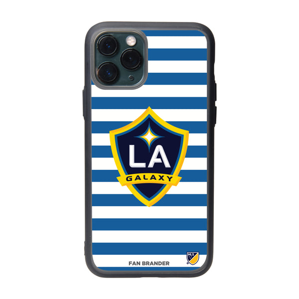 Fan Brander Slate series Phone case with LA Galaxy Primary Logo with Stripes
