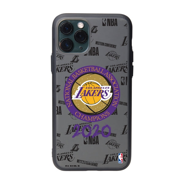 Fan Brander Slate series Phone case with LA Lakers 2020 Champions Design