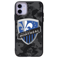 Fan Brander Slate series Phone case with Montreal Impact Urban Camo Background