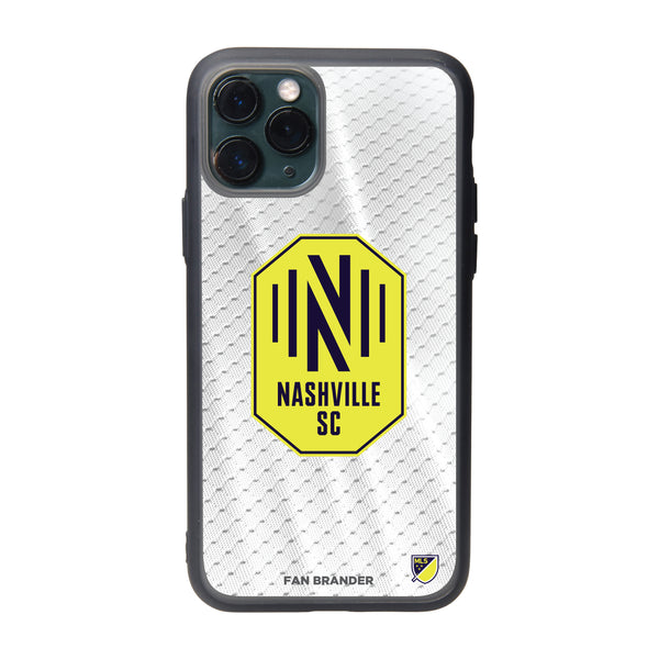 Fan Brander Slate series Phone case with Nashville SC Primary Logo with Jersey design