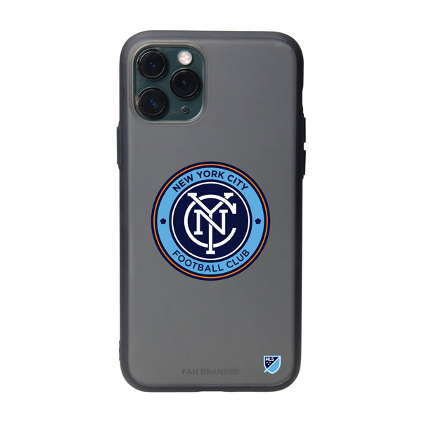 Fan Brander Slate series Phone case with New York City FC Primary Logo