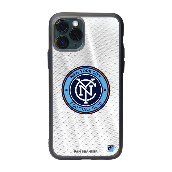Fan Brander Slate series Phone case with New York City FC Primary Logo with Jersey design