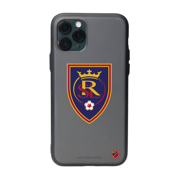 Fan Brander Slate series Phone case with Real Salt Lake Primary Logo