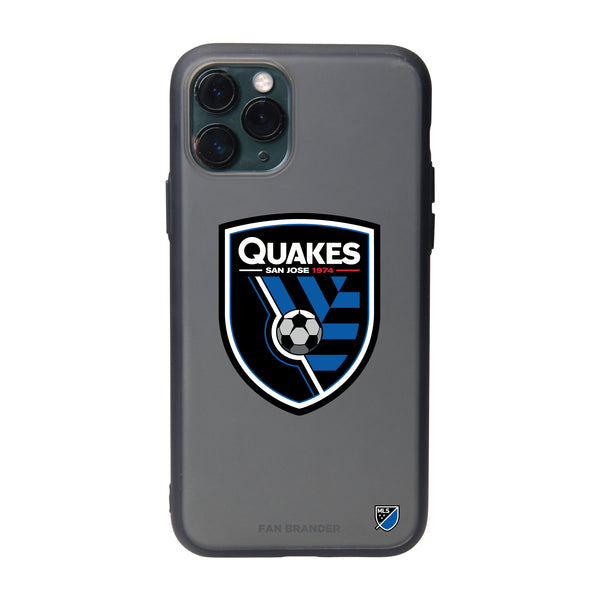Fan Brander Slate series Phone case with San Jose Earthquakes Primary Logo
