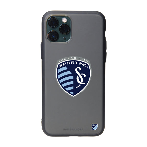 Fan Brander Slate series Phone case with Sporting Kansas City Primary Logo