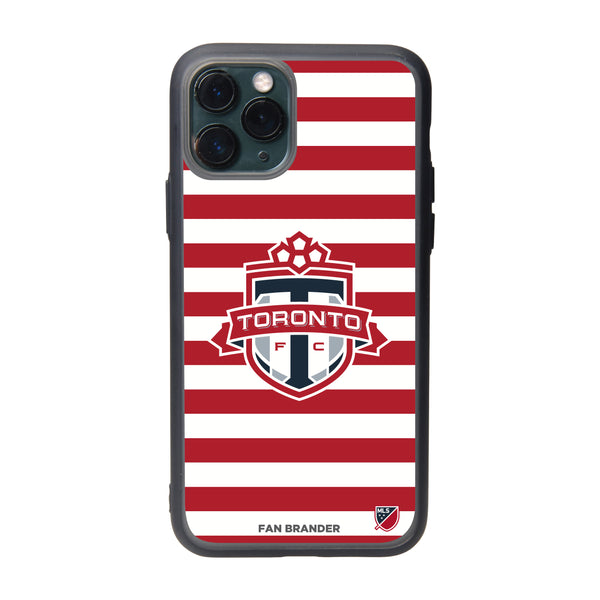 Fan Brander Slate series Phone case with Toronto FC Primary Logo with Stripes