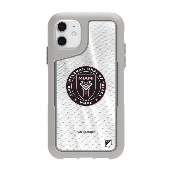 Griffin Survivor Endurance cool grey Phone case with Inter Miami CF Primary Logo with Jersey design