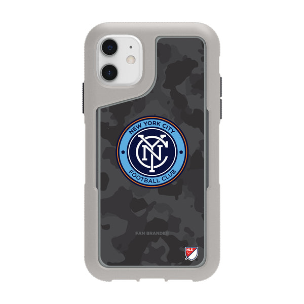 Griffin Survivor Endurance cool grey Phone case with New York City FC Urban Camo Design