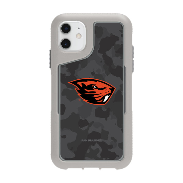 Griffin Survivor Endurance cool grey Phone case with Oregon State Beavers Urban Camo design