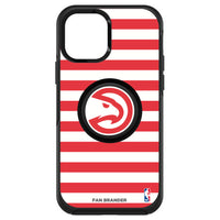 OtterBox Otter + Pop symmetry Phone case with Atlanta Hawks Primary Logo with Stripes