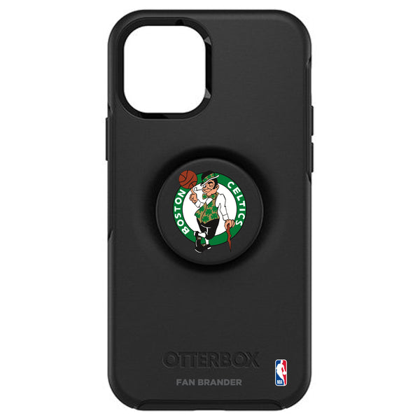 OtterBox Otter + Pop symmetry Phone case with Boston Celtics Primary Logo