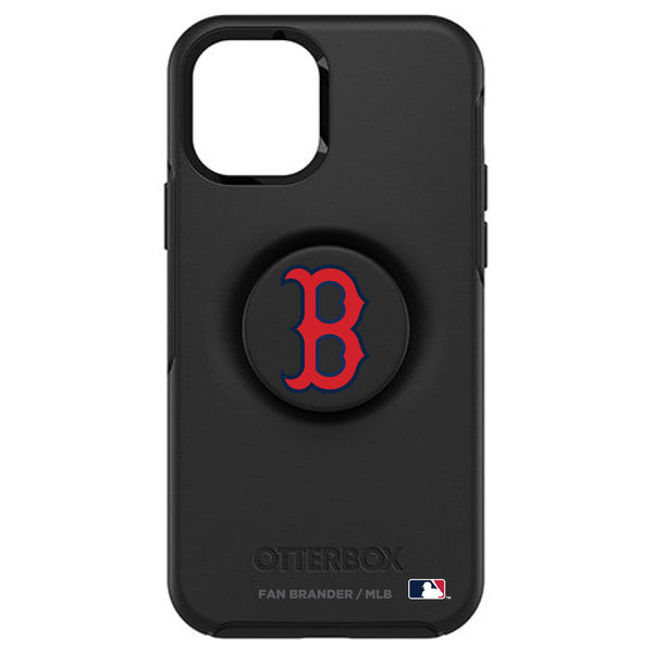 OtterBox Otter + Pop symmetry Phone case with Boston Red Sox Primary Logo