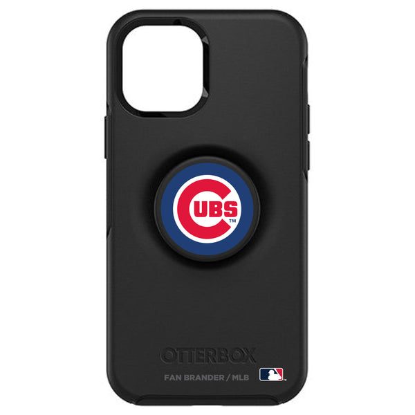 OtterBox Otter + Pop symmetry Phone case with Chicago Cubs Primary Logo