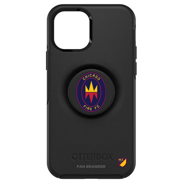 OtterBox Otter + Pop symmetry Phone case with Chicago Fire Primary Logo