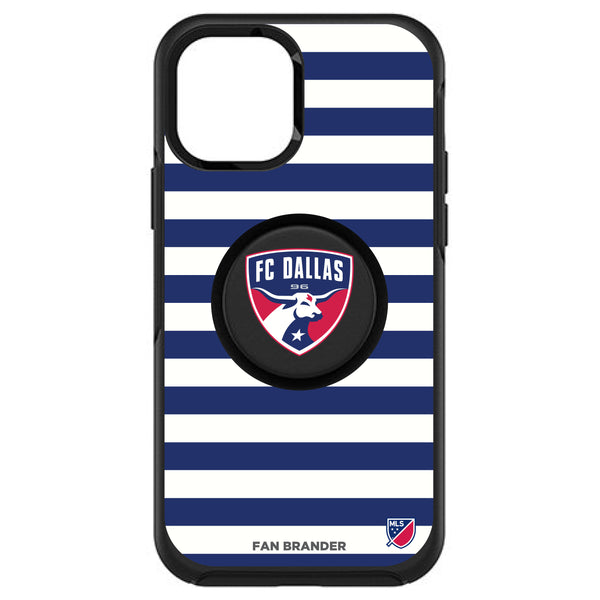 OtterBox Otter + Pop symmetry Phone case with FC Dallas Primary Logo with Stripes