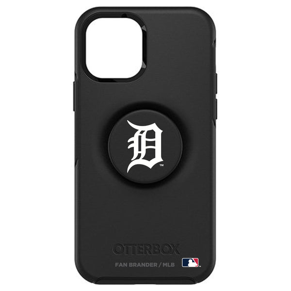 OtterBox Otter + Pop symmetry Phone case with Detroit Tigers Primary Logo