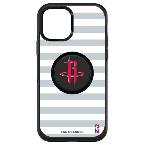 OtterBox Otter + Pop symmetry Phone case with Houston Rockets Primary Logo with Stripes