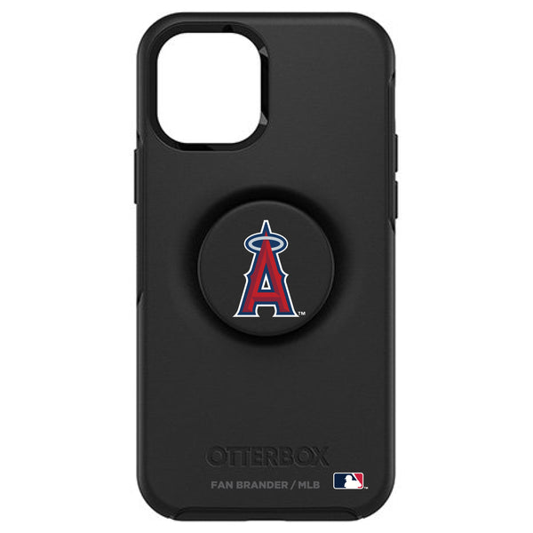 OtterBox Otter + Pop symmetry Phone case with Los Angeles Angels Primary Logo