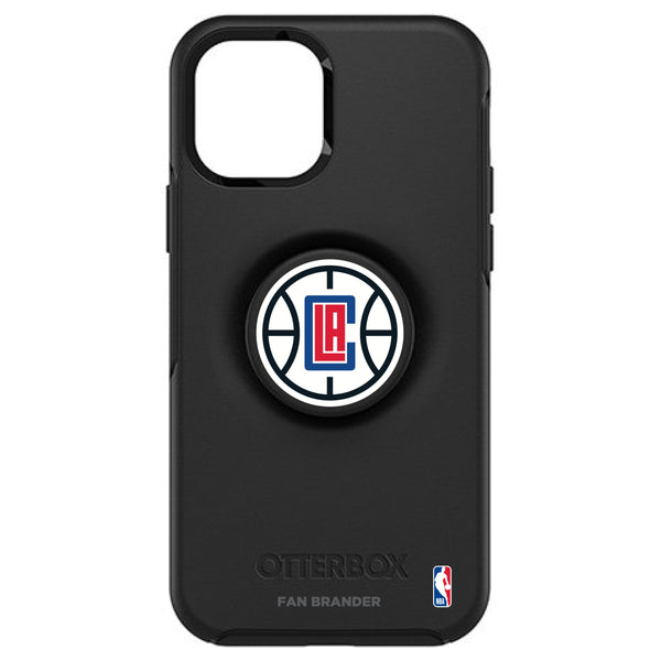 OtterBox Otter + Pop symmetry Phone case with LA Clippers Primary Logo