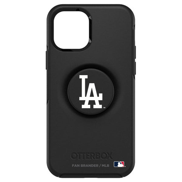 OtterBox Otter + Pop symmetry Phone case with Los Angeles Dodgers Primary Logo