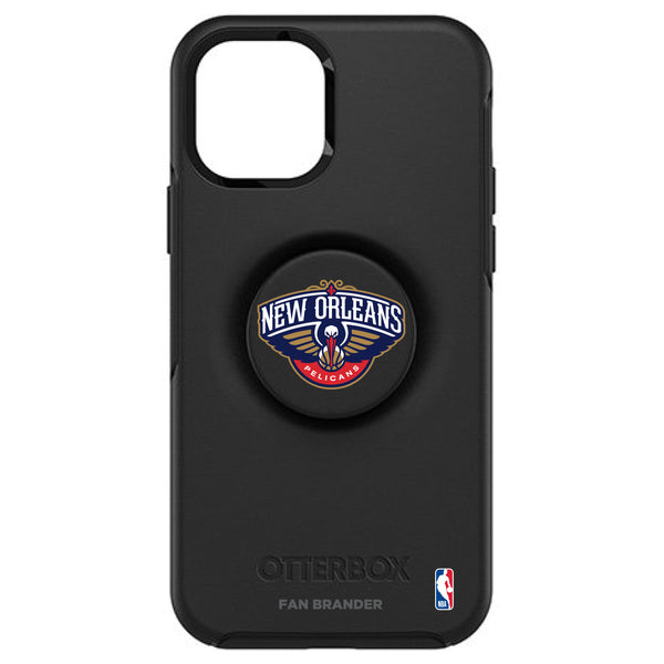 OtterBox Otter + Pop symmetry Phone case with New Orleans Pelicans Primary Logo