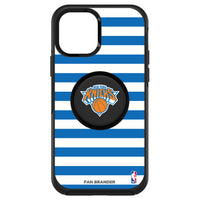 OtterBox Otter + Pop symmetry Phone case with New York Knicks Primary Logo with Stripes