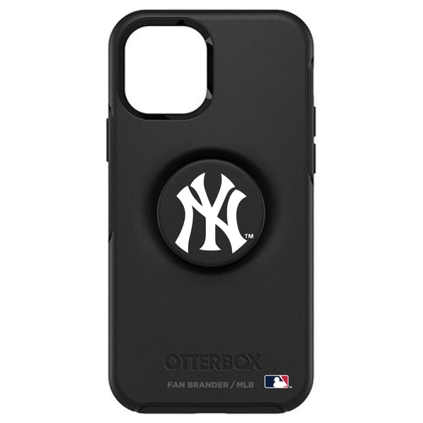 OtterBox Otter + Pop symmetry Phone case with New York Yankees Primary Logo