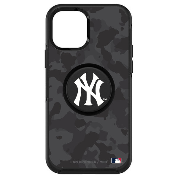 OtterBox Otter + Pop symmetry Phone case with New York Yankees Urban Camo background