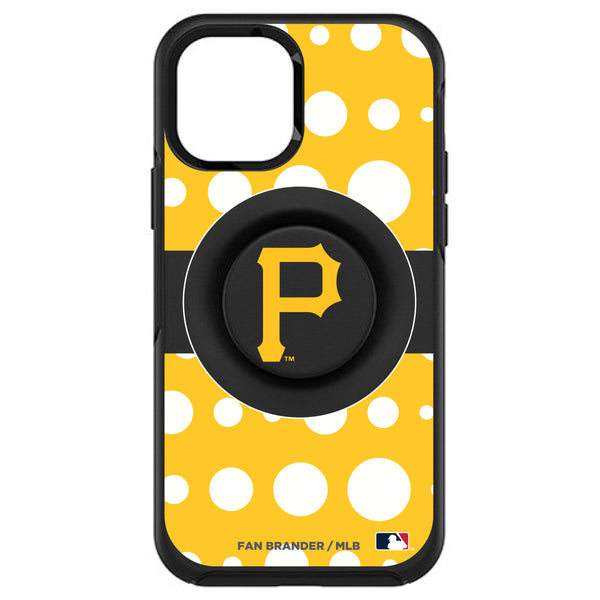 OtterBox Otter + Pop symmetry Phone case with Pittsburgh Pirates Polka Dots design