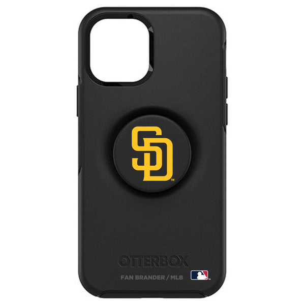 OtterBox Otter + Pop symmetry Phone case with San Diego Padres Primary Logo