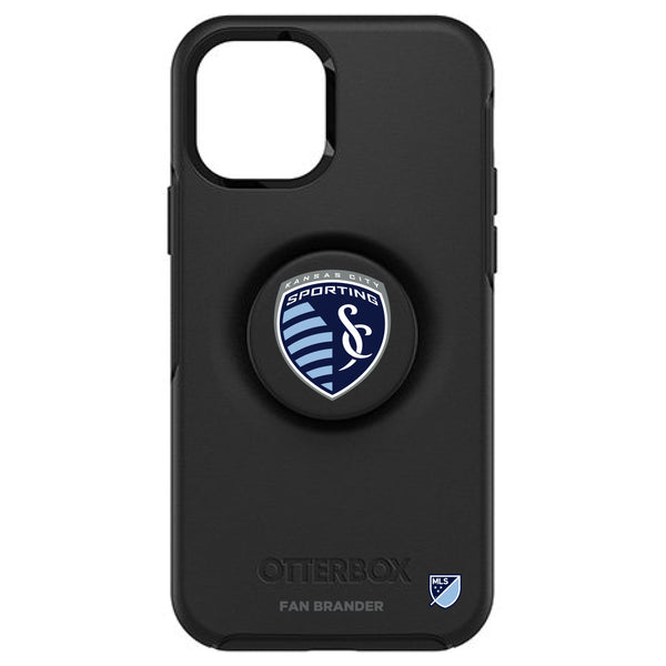 OtterBox Otter + Pop symmetry Phone case with Sporting Kansas City Primary Logo