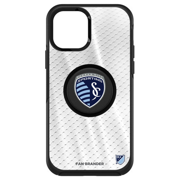 OtterBox Otter + Pop symmetry Phone case with Sporting Kansas City Primary Logo with Jersey design