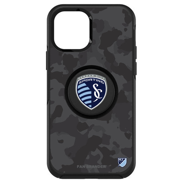 OtterBox Otter + Pop symmetry Phone case with Sporting Kansas City Urban Camo design