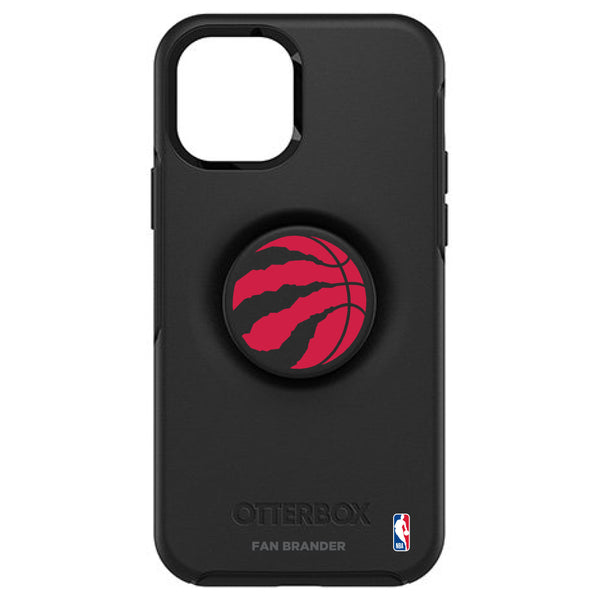 OtterBox Otter + Pop symmetry Phone case with Toronto Raptors Primary Logo