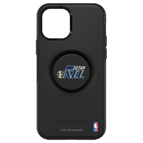 OtterBox Otter + Pop symmetry Phone case with Utah Jazz Primary Logo