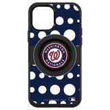 OtterBox Otter + Pop symmetry Phone case with Washington Nationals Polka Dots design