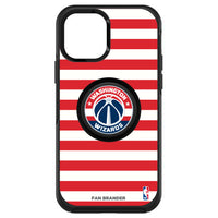 OtterBox Otter + Pop symmetry Phone case with Washington Wizards Primary Logo with Stripes